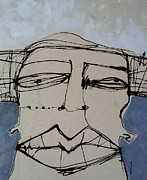 Face Mixed Media Prints - Wanderer No. 22 Print by Mark M  Mellon