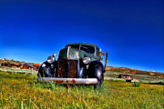 Rusted Cars Framed Prints - Wanna Ride - Bodie Ghost Town By Diana Sainz Framed Print by Diana Sainz
