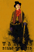 Billy The Kid Posters - Wanted Billy The Kid 20130211gm138 Poster by Wingsdomain Art and Photography