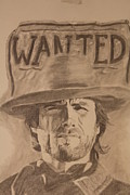 Michael Mcgrath Posters - Wanted Poster by Michael McGrath