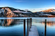 Lake Chelan Prints - Wapato Point Print by Spencer McDonald