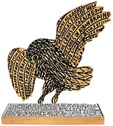 Philadelphia Sculpture Originals - War Eagle by Howard Finster