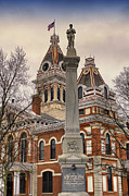 War Memorial Pontiac Il Print by Thomas Woolworth