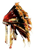 8 Prints - Warbonnet     Print by Gros Ventre