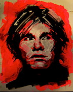 Film Maker Painting Posters - Warhol Poster by Clement richard Prebles
