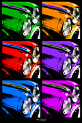 Automobile Artwork. Prints - Warhols Ride Print by Mary Machare