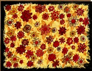 Carla s  Designs - Warm Flowers