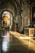 Basilica Art - Warm Glow by Joan Carroll