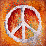 Warm Tones Art - Warm Peace by Michelle Boudreaux