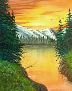 David Bentley Art - Warm Reflection by David Bentley
