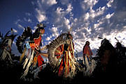 Pow Wow Metal Prints - Warm Springs Metal Print by Christian Heeb