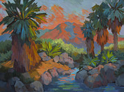 Canyons Paintings - Warm Summer Afternoon 2 by Diane McClary