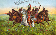 Label Prints - Warpath Print by Studio Artist