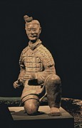 Lintong Posters - Warriors Of Xian. Archer. 221 -206 Bc Poster by Everett