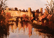Warwick Painting Prints - Warwick Castle Print by Paul Mitchell