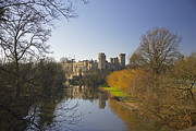 Warwick Framed Prints - Warwick Castle Framed Print by Premierlight Images