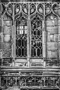 Warwick Photo Prints - Warwick Cathedral Window Print by Georgia Fowler