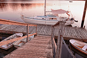 Atlantic Beaches Prints - Warwick Marina Park Print by Lourry Legarde
