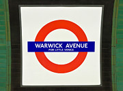 Warwick Framed Prints - Warwick Station Framed Print by Keith Armstrong