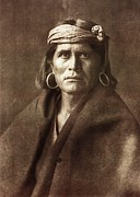 Edward Curtis Prints - Warze Print by Edward Curtis