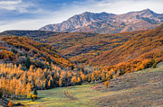 Changing Colors Prints - Wasatch Moutains Utah Print by Utah Images