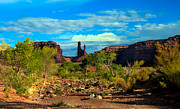 The Lady In Red Photos - Wash Valley of The Gods by Robert Bales