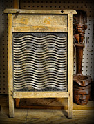 Zydeco Prints - Washboard Print by Lee Dos Santos