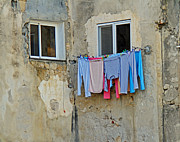 Karl Gebhardt - washday in Israel