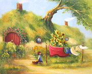 Joe  Gilronan - Washing Day Hobbiton.