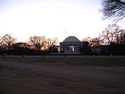 Washington Dc - Jefferson Memorial - 12121 Print by DC Photographer