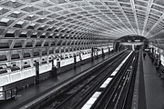 Metro Prints - Washington DC Metro Station I Print by Clarence Holmes
