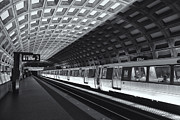 D.w Framed Prints - Washington DC Metro Station IV Framed Print by Clarence Holmes