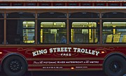 Grandeur Prints - Washington DC Trolley Print by Robert Harmon