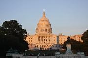 Washington Dc - Us Capitol - 011313 Print by DC Photographer