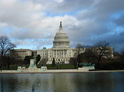 Freedom Photo Prints - Washington DC - US Capitol - 12122 Print by DC Photographer