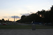 Standing Prints - Washington DC - Washington Monument - 01133 Print by DC Photographer