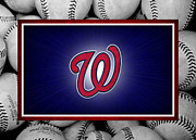 Washington Nationals Art - Washington Generals by Joe Hamilton
