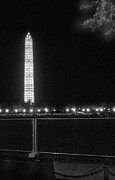Harold E Mccray Posters - Washington Monument Poster by Harold E McCray