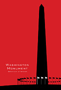 Sight See Prints - Washington Monument National Park Print by Anthony Ross