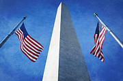 Washington Monument Photos - Washington Monument by Neil Overy