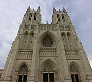 D.c. Photo Prints - Washington National Cathedral - Washington DC - 01131 Print by DC Photographer