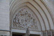 Windows Art - Washington National Cathedral - Washington DC - 0113118 by DC Photographer