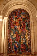 Archway Prints - Washington National Cathedral - Washington DC - 011338 Print by DC Photographer
