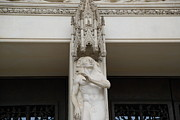 Sculpture Photos - Washington National Cathedral - Washington DC - 011344 by DC Photographer