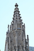 Religion Photo Metal Prints - Washington National Cathedral - Washington DC - 01135 Metal Print by DC Photographer