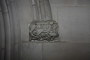 Gothic Prints - Washington National Cathedral - Washington DC - 011363 Print by DC Photographer
