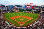 Nationals Baseball Framed Prints - Washington Nationals Park Framed Print by James Kirkikis