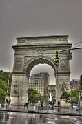 Washington Square Framed Prints - Washington Square Framed Print by David Bearden