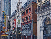 Opera Originals - Washington Street in June by Deb Putnam