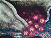 Red Apples Prints - Wassail Print by Constance Widen